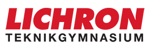 Lichron Teknikgymnasium logo footer